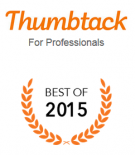 Thumbtack Best of badge