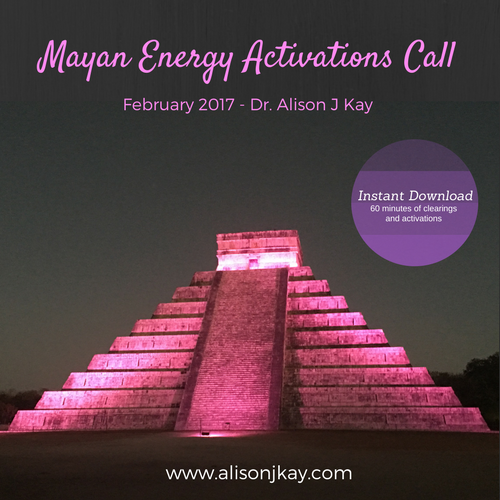 mayan energy activations